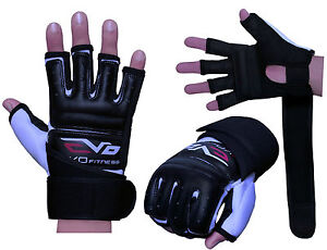 EVO-Leather-body-combat-GEL-Gloves-MMA-Boxing-Punch-Bag-Martial-Arts-Karate-Mitt