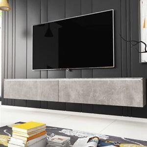 Details zu TV-Lowboard Detroit D180 TV-Tisch Wohnzimmer TV-Schrank Modern  Design Kollektion