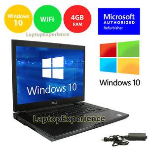 DELL-LAPTOP-LATiTUDE-WINDOWS-10-WIN-INTEL-CORE-i5-4GB-250GB-DVD-RW-WIFI-15-6-034-HD