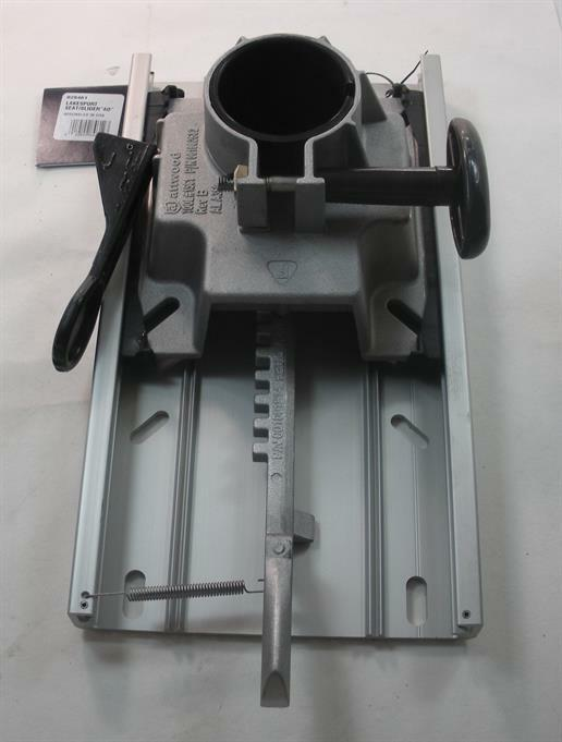 Swivl-Eze 828461 Aluminium Aluminium Aluminium Stuhl Sitz Montieren mit / Rutsche für 2-3/8