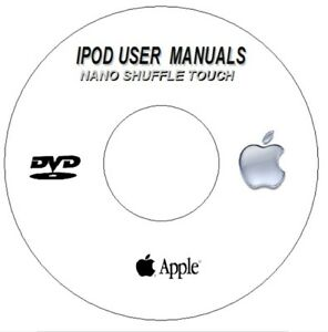 apple ipod nano shuffle touch user guides instruction manuals dvd ebay rh ebay co uk apple ipod nano 6th generation user manual apple ipod nano 2nd generation user manual