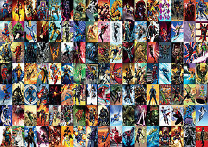 Marvel-Comic-Super-Hero-Collage-Giant-Poster-Art-Print-A0-A1-A2-A3-A4-Sizes