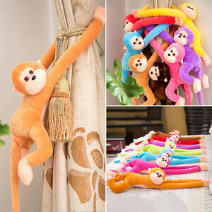 Colorful-Long-Arm-Monkey-Hanging-Soft-Plush-Doll-Stuffed-Animal-Kids-Baby-Toy-Sy