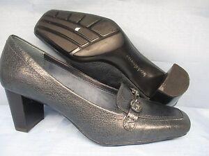 Womens Shoes LIZ CLAIBORNE WILMA Size 5 M NAVY BLUE CAREER PUMPS EXC