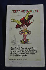 1908 Merry Widow Wiles Signed Walter Wellman Postcard