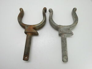 Details About Huge Pair 314 Inch Cast Iron Ram Horn Oar Lock Row Boat Decor Ol485