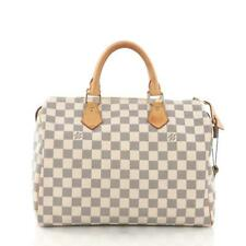 8b7c505c62a2 Louis Vuitton Speedy 30 Damier Azur Canvas for sale online