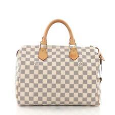 4938d8e3d057a Louis Vuitton Speedy 30 Damier Azur Canvas for sale online
