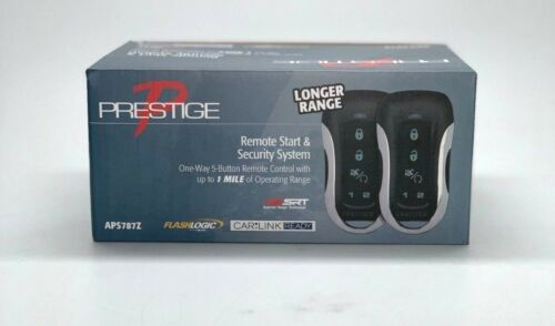 Keyless Entry And Security System W//Up To 1 Mile Prestige APS787Z Remote Start