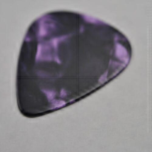 12 New Purple Guitar Picks  Medium Dunlop 351 Shape Celluloid No Logo