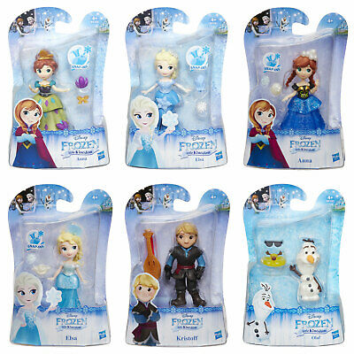 "Analytical Disney Frozen Little Kingdom 3"" Dolls choose From Anna, Elsa, Kristoff & Olaf Sales Of Quality Assurance"