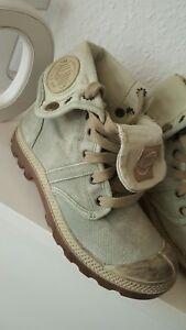 37 Fille Boots Détails Le Taille Pallabrouse D'origine Bottes Kaki SurPalladium Titre Femmes NeufAfficher Nmw80n