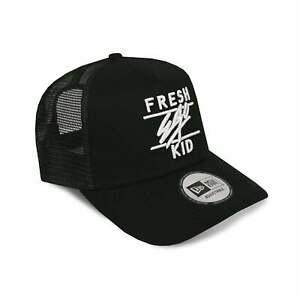 8f5aef5b95636d Fresh Ego Kid FEK-462 New Era Trucker Cap Black/White 193325979004 ...