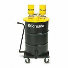 Tornado 95961 Dual Venturi Jumbo Drum Vacuum Wet Only 55 Gal Cap 36nl99 New