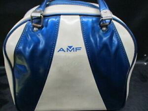 Vintage-Columbia-300-Bowling-Ball-10-LB-5-OZ-Blue-Swirl-White-Dot-5x76672-JR