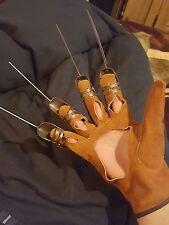 Freddy Krueger Glove Nightmare on Elm Street Hand Made Metal Robert Englund
