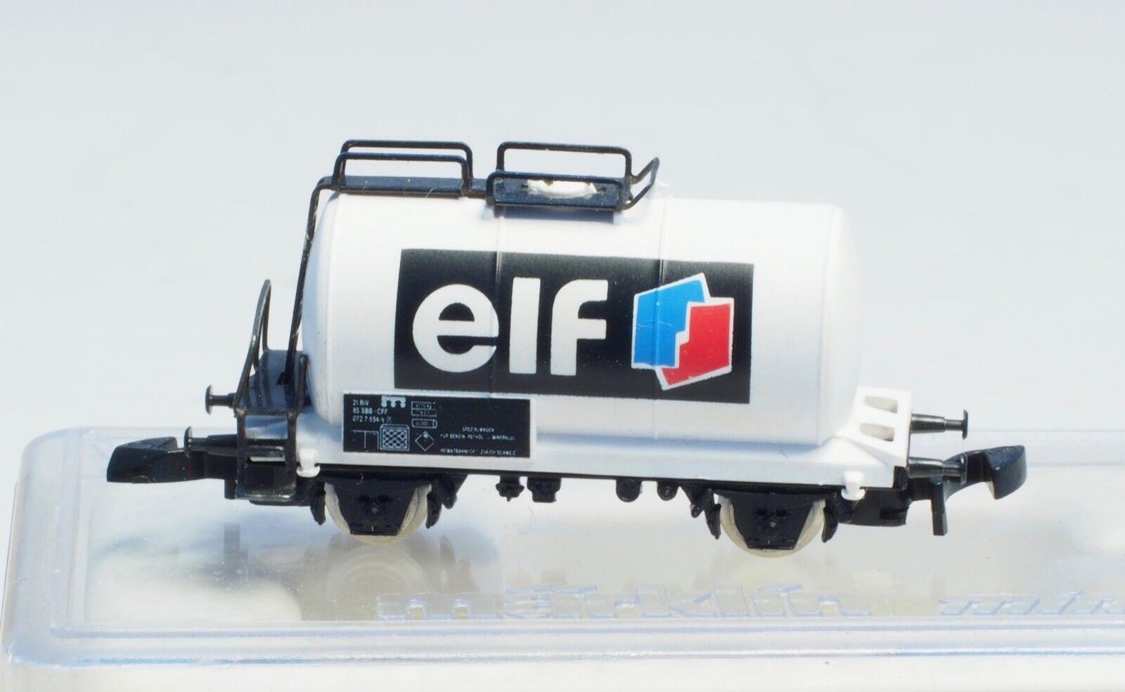 Marklin Z escala Elf suizo SBB sistema de financiación compensatoria muy limitada de lanzamiento de coche del tanque