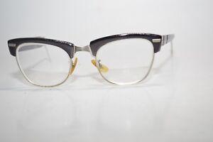 eb9597e75f1 Image is loading Vintage-Shuron-Browline-Eyeglasses-Frames-1-10-12K-