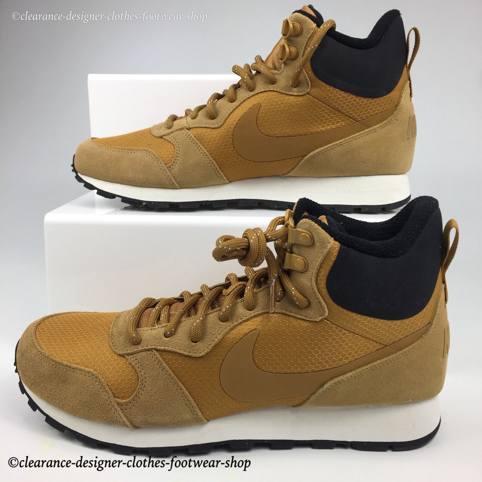 NIKE MD RUNNER CASUAL 2 MID PREMIUM TRAINERS NEW Hommes CASUAL RUNNER WALKING Chaussure90 38eb9e