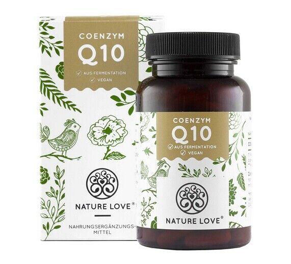 Coenzym Q10 von Nature Love - Aktionspreis - Mit 200mg pro Kapsel. 120 Kapseln i