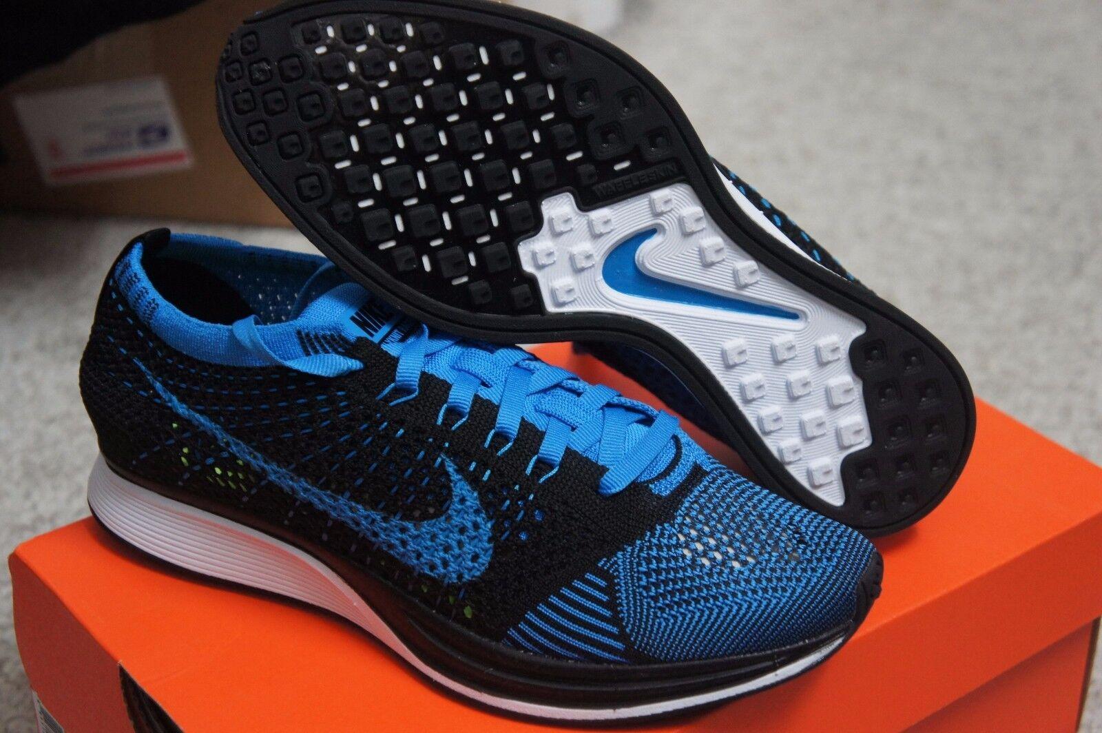 Nike Flyknit Racer Oreo Blue White Black Zoom Trainer