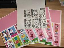1 Foglio adesivi stickers HELLO KITTY B COOL Panini 2011 da collezione raro