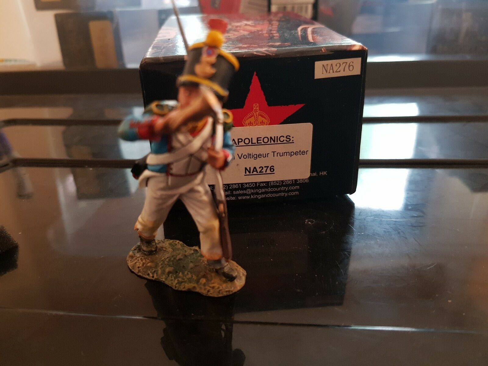 King and Country Country French Voltigeur Napoleonics NA276 Bnib