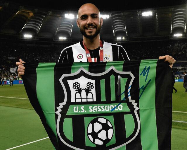 Juventus Simone Zaza Autographed Signed 8x10 Photo COA