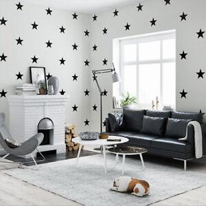 Details about Modern Style Cartoon Stars Pattern Children's Room Bedroom  Non-woven Wallpaper
