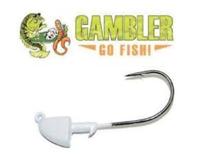 Pike Bass VMC Swimbait Jig Head Crappie /& Striper Fishing Terminal Tackle