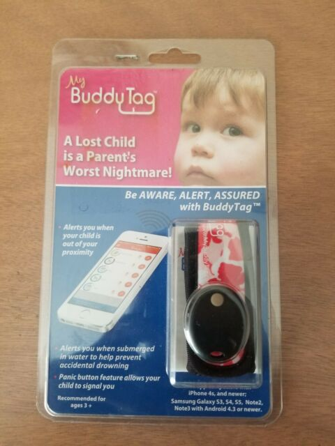 My Buddy Tag With Silicone Wristband Pink For Sale Online Ebay