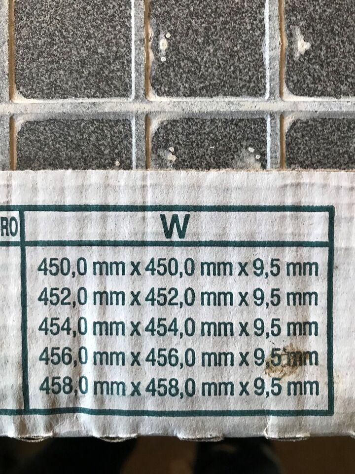 Indendørs klinker, 17,5 kvm