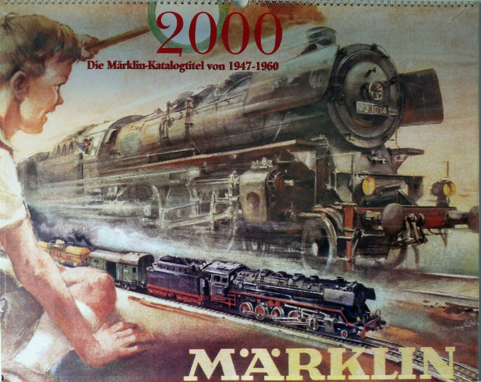 Marklin Millennium 2000 Dealers Calendar in original perfect condition