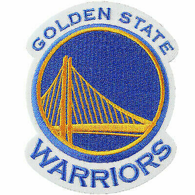 reputable site 8a495 83e43 Golden State Warriors Official NBA Primary Team Logo Jersey Patch Stephen  Curry for sale online | eBay