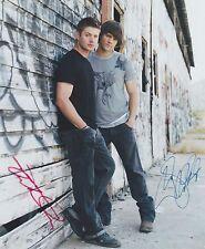 Supernatural Jensen Ackles Jared Padalecki RARE YOUNG DUEL-SIGNED RP 8x10 WOW!!!