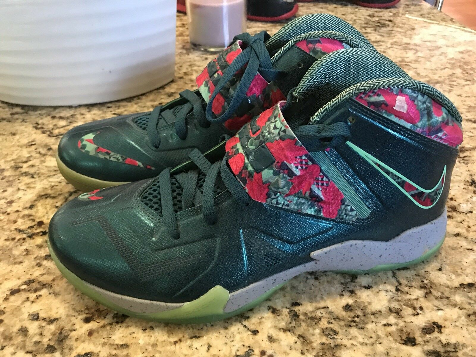 Nike Lebron Zoom Soldier VII 7 South Beach SZ 11