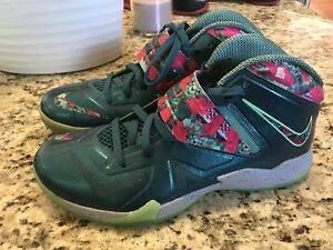 8cb47bfbc27f Image is loading Nike-Lebron-Zoom-Soldier-VII-7-South-Beach-