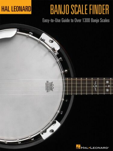 Banjo Scale Finder 9in x 12in Easy-to-Use Guide to Over 1 300 Banjo 000695780