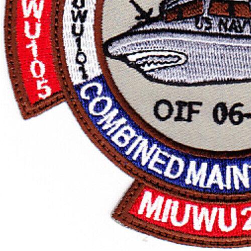IBU-28 Camp Patriot Oif 06-07 Inshore Boat Unit Twenty Two Patch