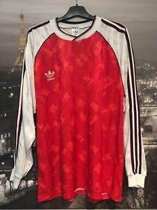 Adidas vintage long sleeve shirt - Arsenal style issue shirt - XL