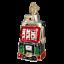 Old-World-Christmas-SLOT-MACHINE-44038-N-Glass-Ornament-w-OWC-Box thumbnail 1