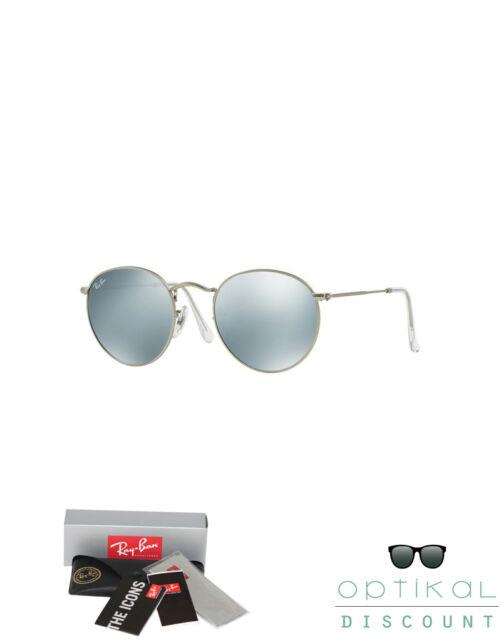 Ray Ban 3447 019/30 50 round metal occhiali da sole tondi sunglasses gafas