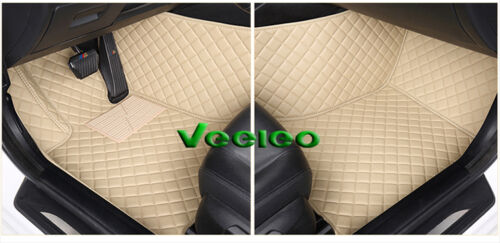 8 Colors Leather Floor Mats for Porsche Cayenne 2002-2010 Waterproof Carpets