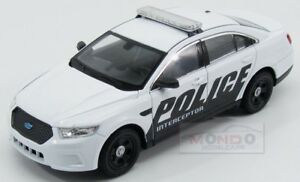 Ford-Usa-Sedane-V6-Interceptor-Police-2014-Black-White-Welly-1-24-WE24045WH-POL