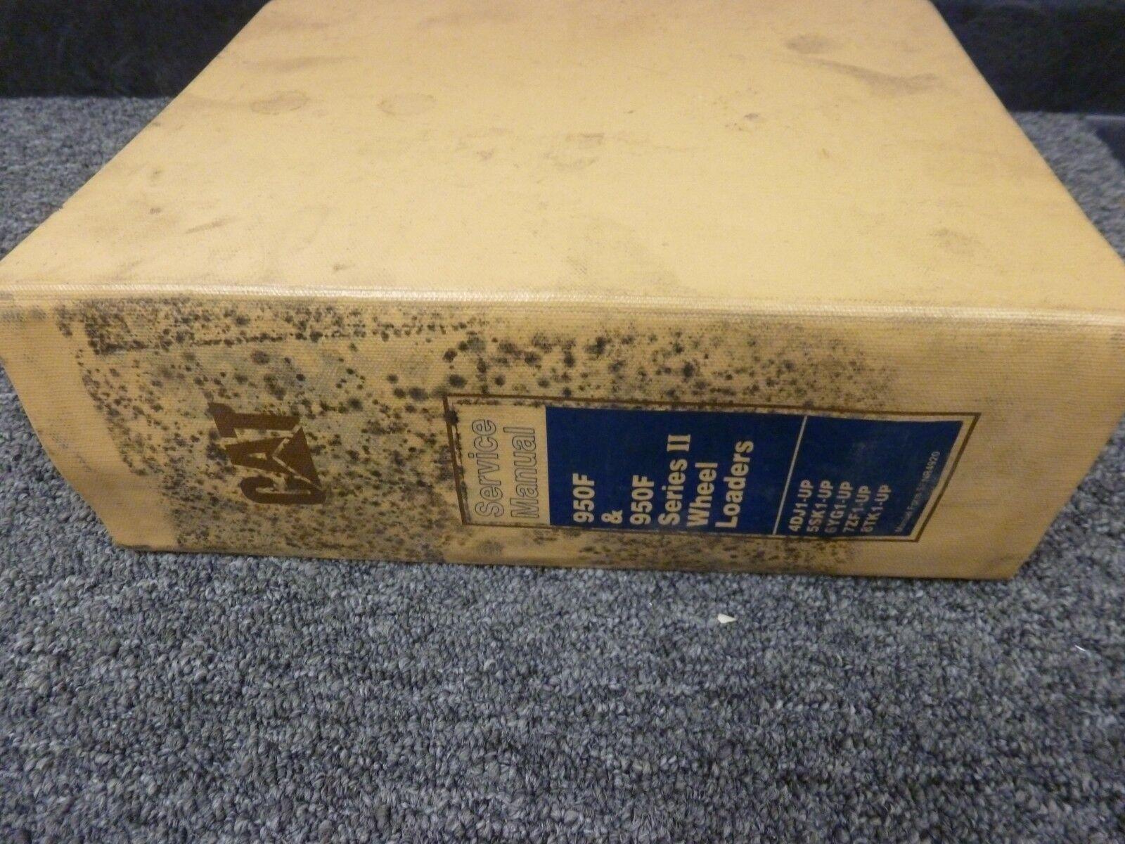 Caterpillar CAT 950F  950F Series II cargadoras de de de ruedas manual de reparación de servicio de tienda 7aae22