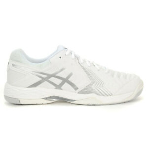 ASICS-Men-039-s-Gel-Game-6-White-Silver-Tennis-Shoes-E705Y-0193-NEW