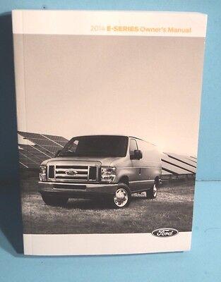 14 2014 Ford E-Series//E-150//E-250//E-350 owners manual with Navigation//SYNC