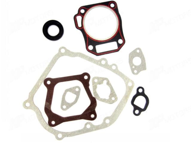 New Cylinder Head Full Gasket Set + Oil Seal for Honda GX160 GX200 5.5hp 6.5hp