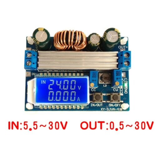 Adjustable Step Up Down Power Supply Module LCD Display Boost Buck Converter RH