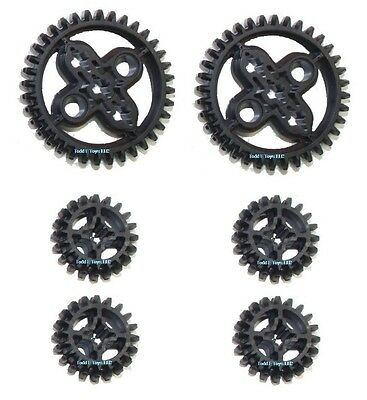 LEGO 6pc Technic Double Bevel gear SET lot Mindstorms functions motor  20 36